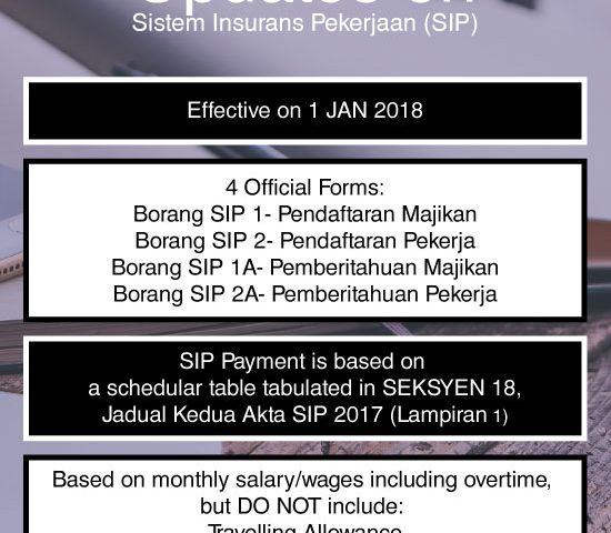 updattes on sistem insurans pekerjaan accounting