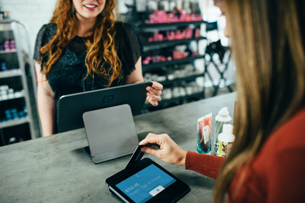 swiping card at shop can be track accounting software myconsult