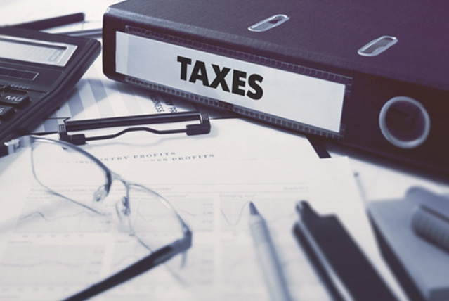 taxes file and document for accounting