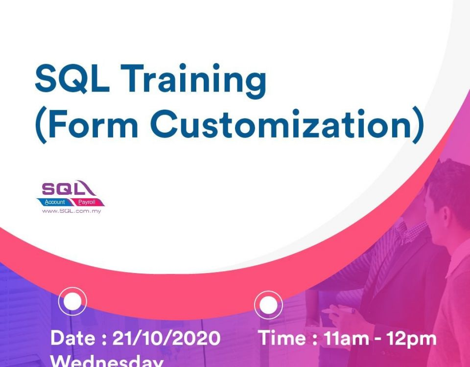 learn training for sql accounting software