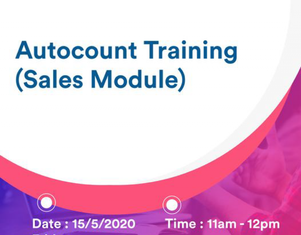 myconsult autocount accounting software training on 15/5/2020