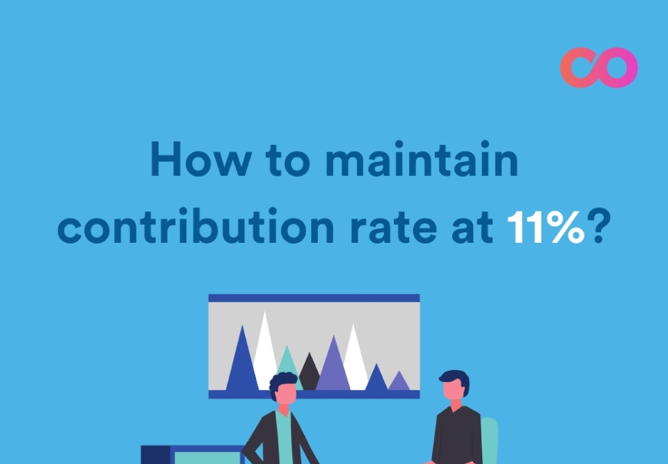 How to maintain contribution rate for accounting outsourcing employee in malaysia